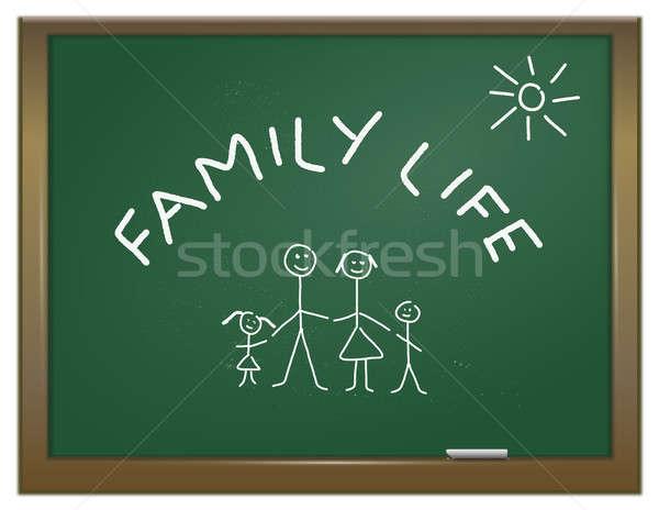 Family life concept. Stock photo © 72soul