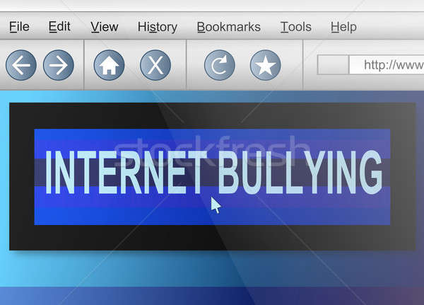 Internet bullying. Stock photo © 72soul