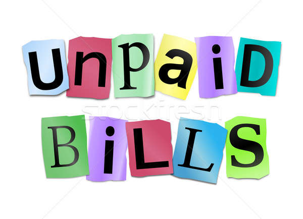 Unpaid bills concept. Stock photo © 72soul