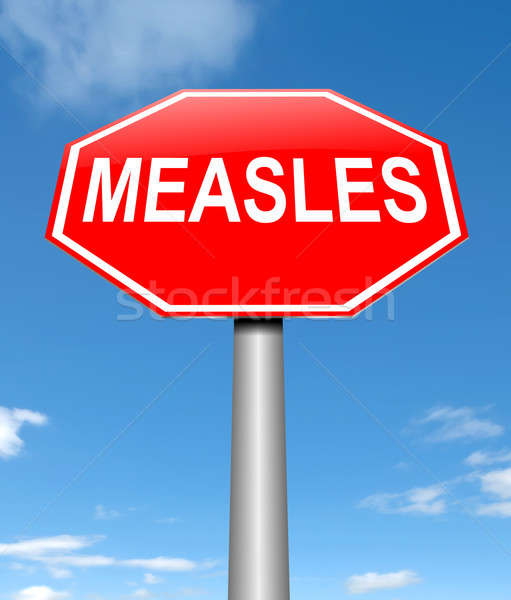 Measles concept. Stock photo © 72soul