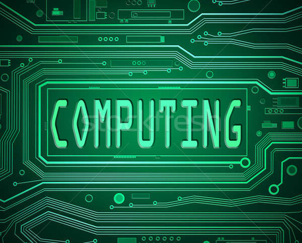 Computing concept. Stock photo © 72soul