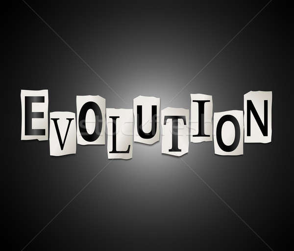 Evolution concept. Stock photo © 72soul