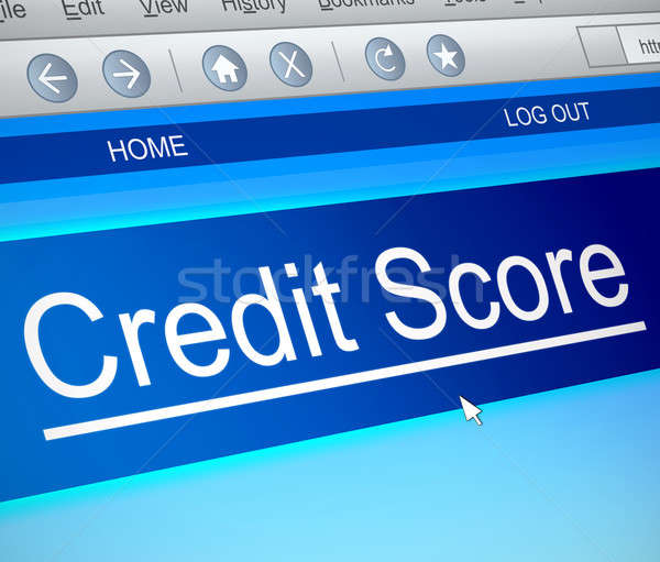 Credit score concept. Stock photo © 72soul