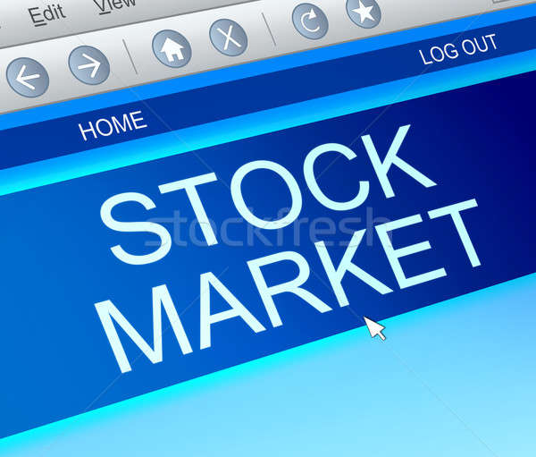 Stock market concept. Stock photo © 72soul