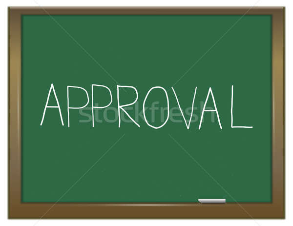 Approval word concept. Stock photo © 72soul