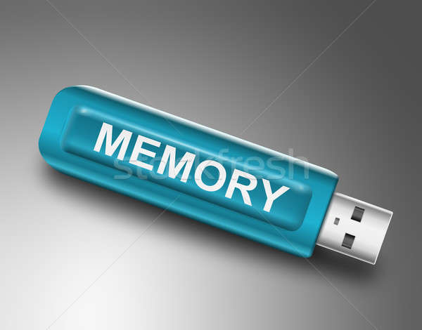 Memory concept. Stock photo © 72soul