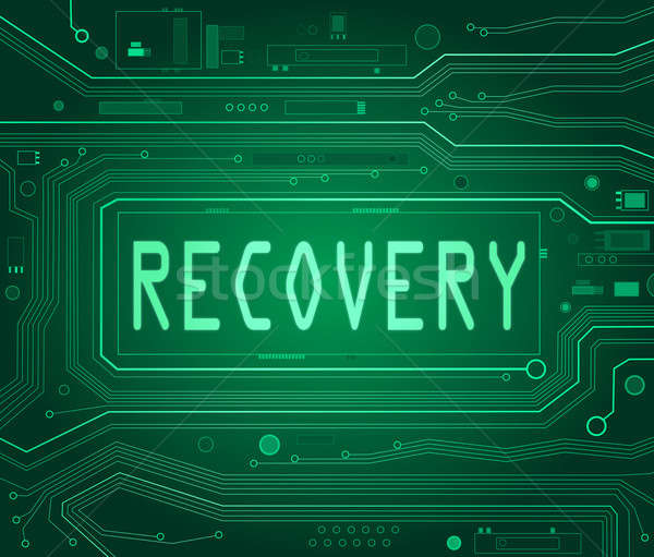 Recovery concept. Stock photo © 72soul