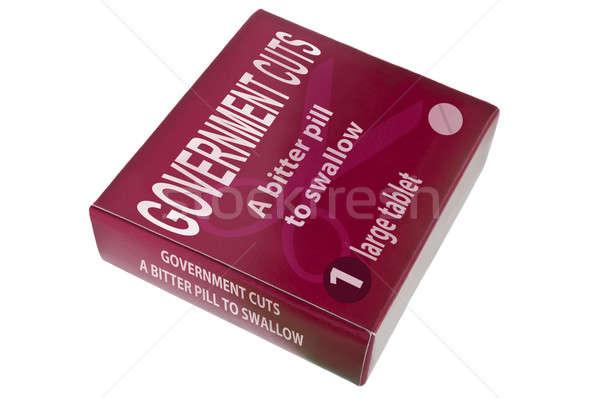 Governo vermelho empacotar palavras amargo Foto stock © 72soul