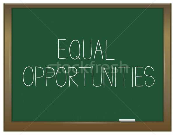 Equal opportunities. Stock photo © 72soul