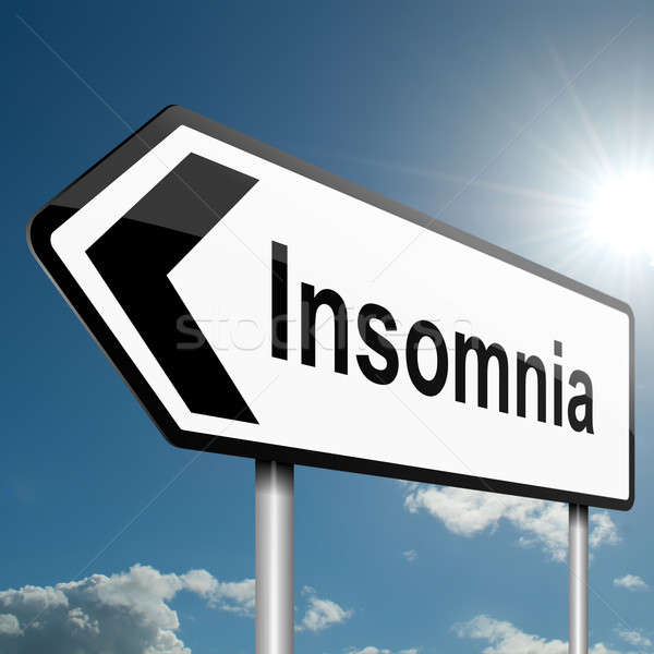 Insomnia concept. Stock photo © 72soul