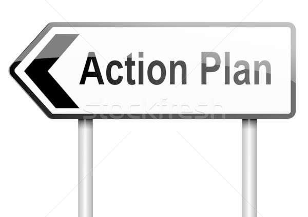 Action plan concept. Stock photo © 72soul