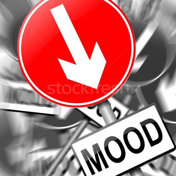 Feeling down. Stock photo © 72soul