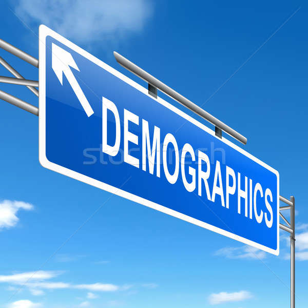 Demographics concept. Stock photo © 72soul
