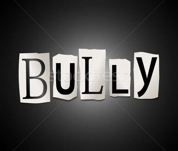 Bully concept. Stock photo © 72soul