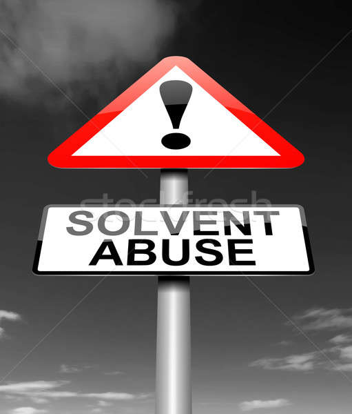 Solvent abuse concept. Stock photo © 72soul