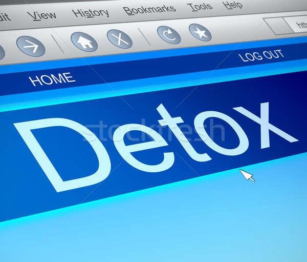 Detox concept. Stock photo © 72soul