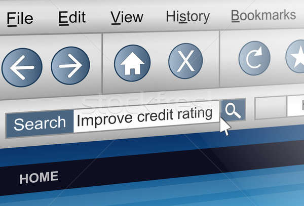 Credit rating concept. Stock photo © 72soul