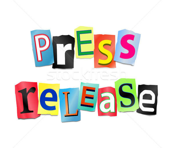 Press release concept. Stock photo © 72soul