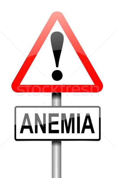 Anemia concept. Stock photo © 72soul