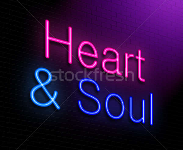 Heart and soul concept. Stock photo © 72soul