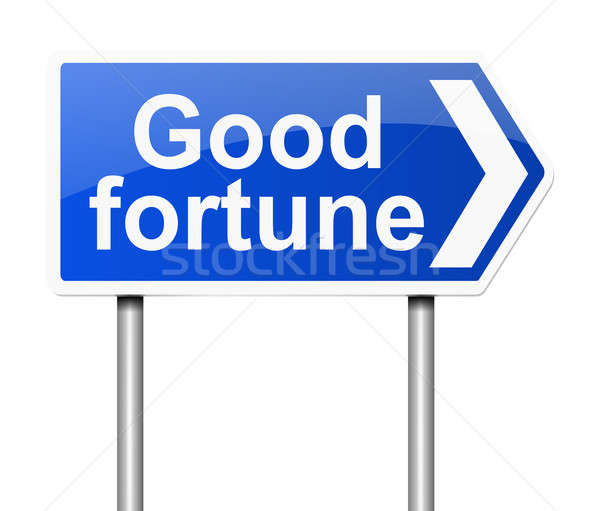 Good fortune concept. Stock photo © 72soul