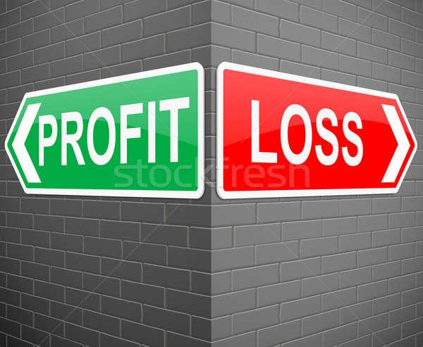 Profit or loss concept. Stock photo © 72soul