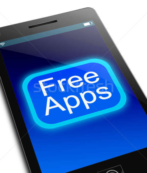 Free Apps concept. Stock photo © 72soul
