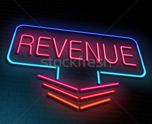 Revenue concept. Stock photo © 72soul