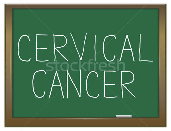 Cervical cancer concept. Stock photo © 72soul