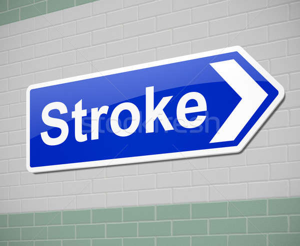 Stroke concept. Stock photo © 72soul