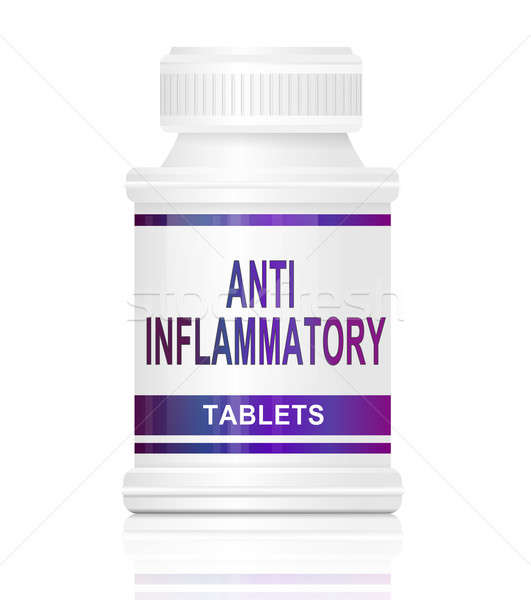 Anti inflammatory medication. Stock photo © 72soul