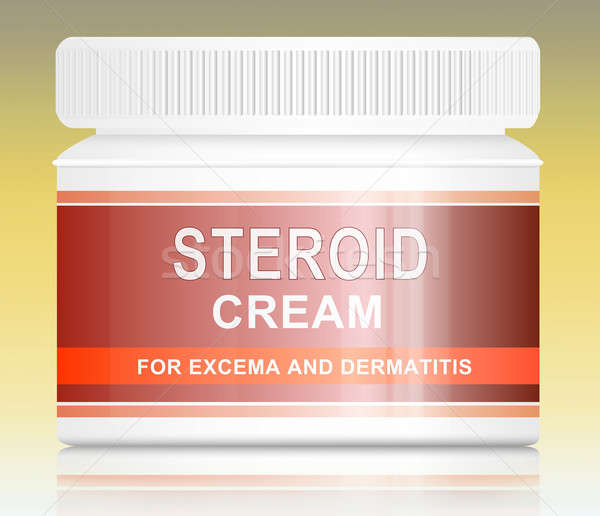 Steroid cream. Stock photo © 72soul