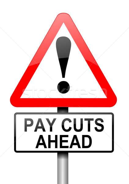 Pay cut concept. Stock photo © 72soul