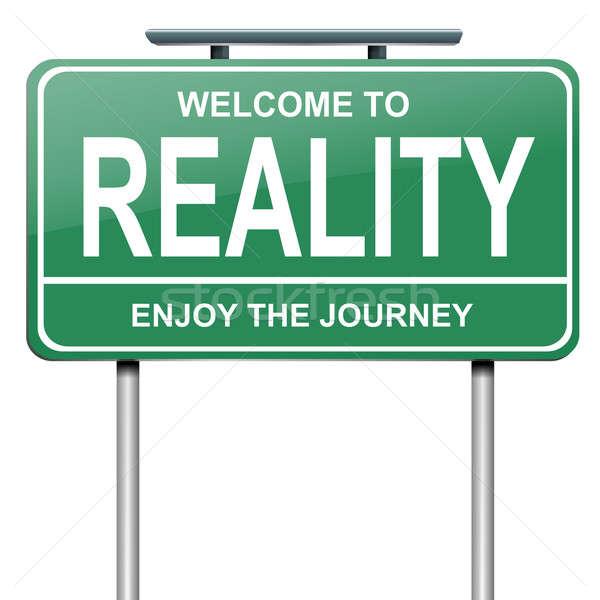 Reality concept. Stock photo © 72soul