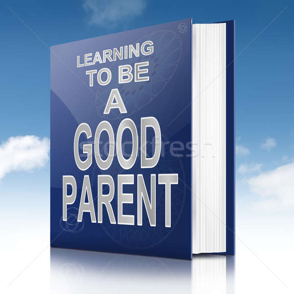 Good parenting guidance concept. Stock photo © 72soul