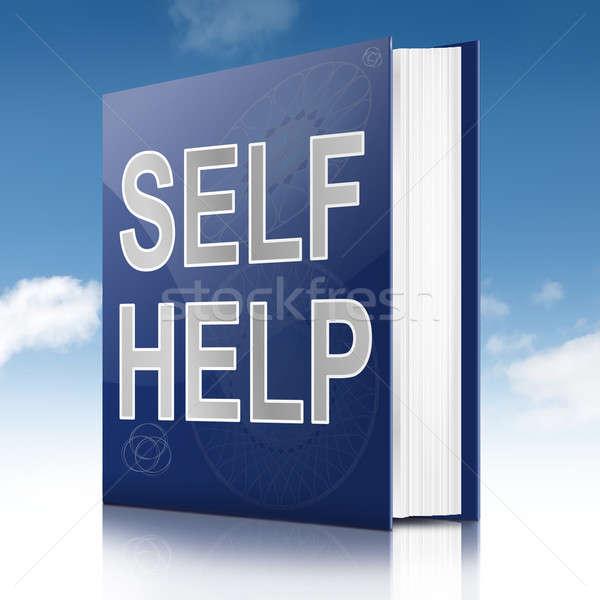 Self help book. Stock photo © 72soul