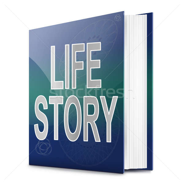 Life story concept. Stock photo © 72soul