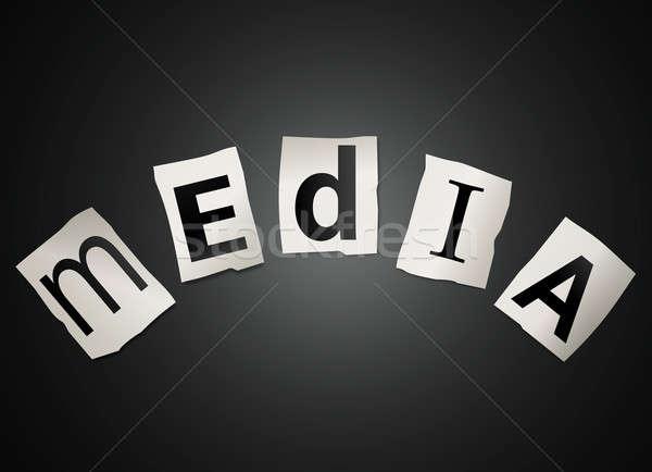 Media concept. Stock photo © 72soul