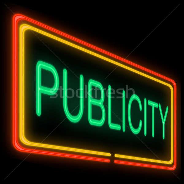 Publicity concept. Stock photo © 72soul