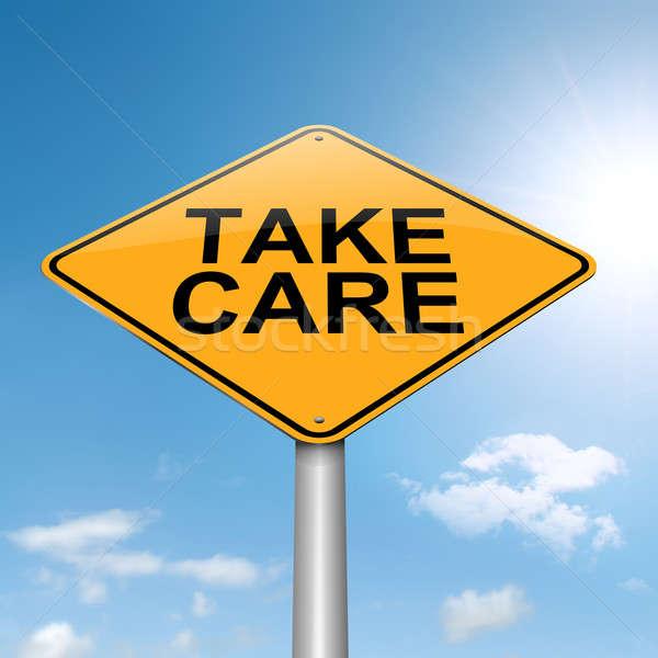 Take care concept. Stock photo © 72soul