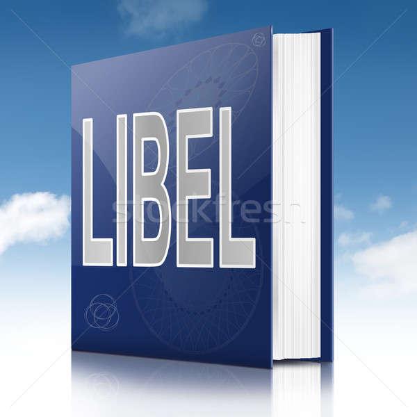 Libel book. Stock photo © 72soul