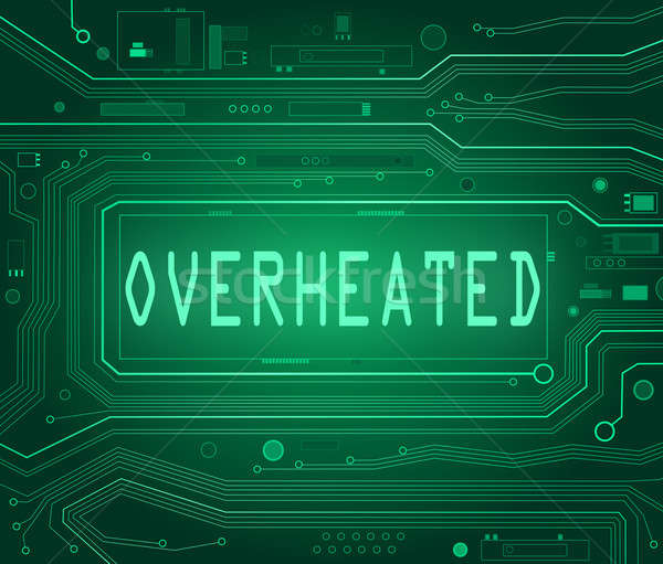 Overheated concept. Stock photo © 72soul