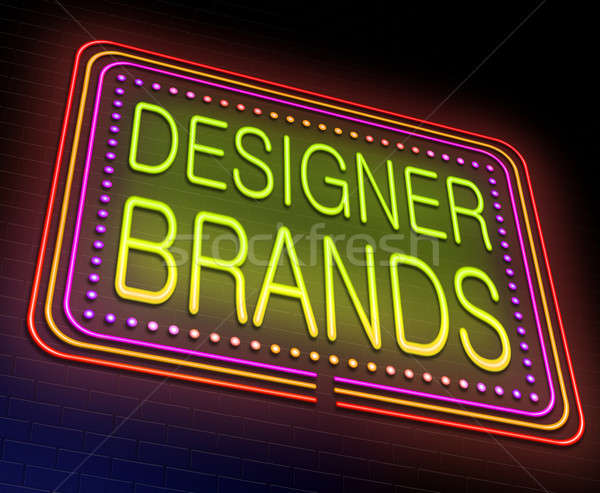 Designer brands concept. Stock photo © 72soul