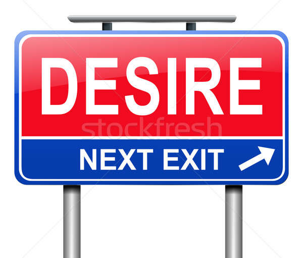 Desire sign concept. Stock photo © 72soul