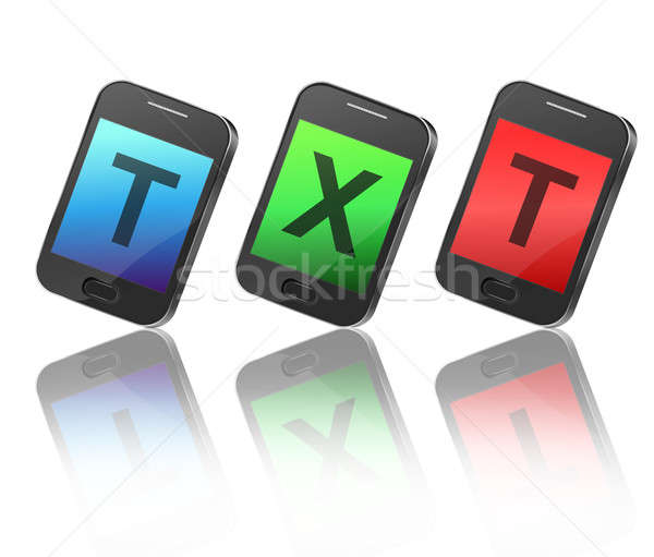 Texting concept. Stock photo © 72soul