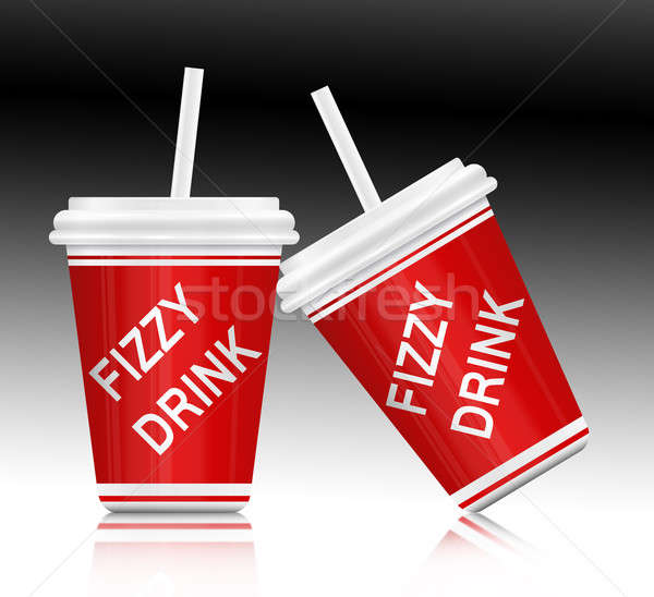 Fizzy drink. Stock photo © 72soul