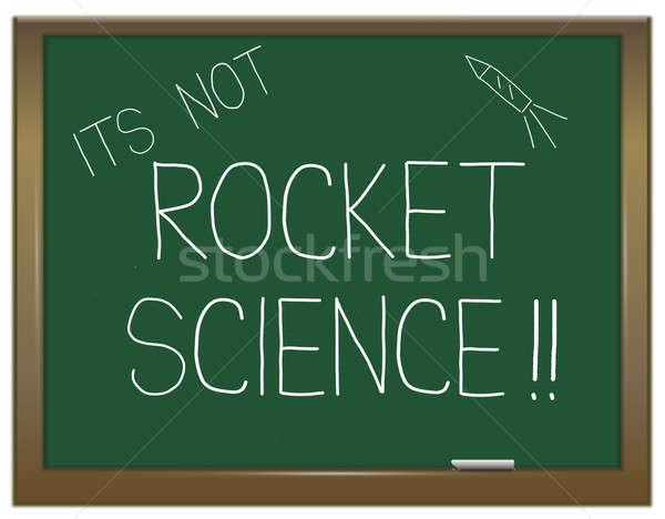 Not rocket science. Stock photo © 72soul