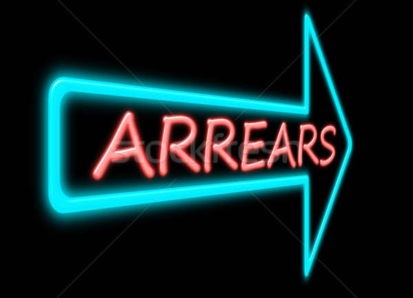 Arrears concept. Stock photo © 72soul