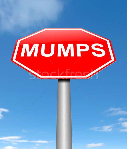 Mumps concept. Stock photo © 72soul