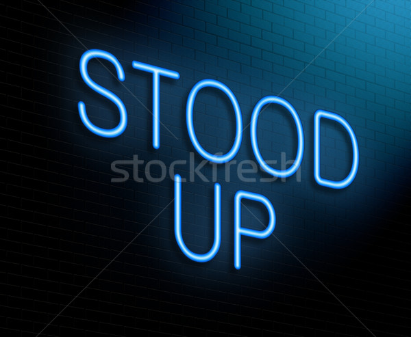 Stood up concept. Stock photo © 72soul